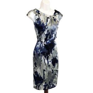 Jones New York watercolor floral dress